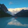 Early Morning Blues - Lake LouiseF