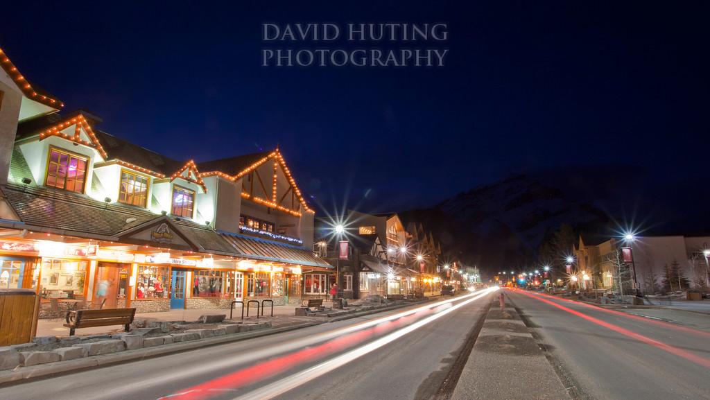 Banff Night View
