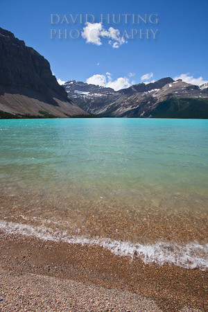 Bow Lake Sunny Vertical