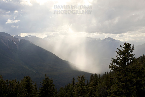 Falling Mountain Rain