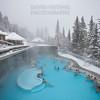 Banff Hot Springs in Winter