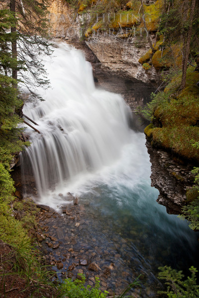 Meltwater Cascades, Johnston Canyon