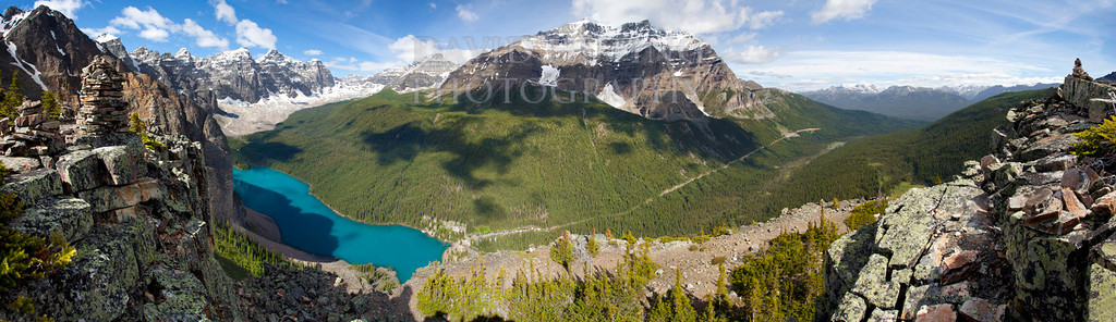Babel Moraine Lake View Pano lq