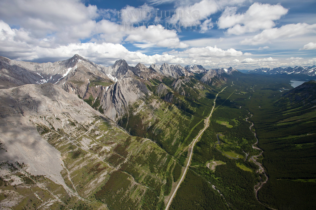 Epic Alberta Mountains   highway