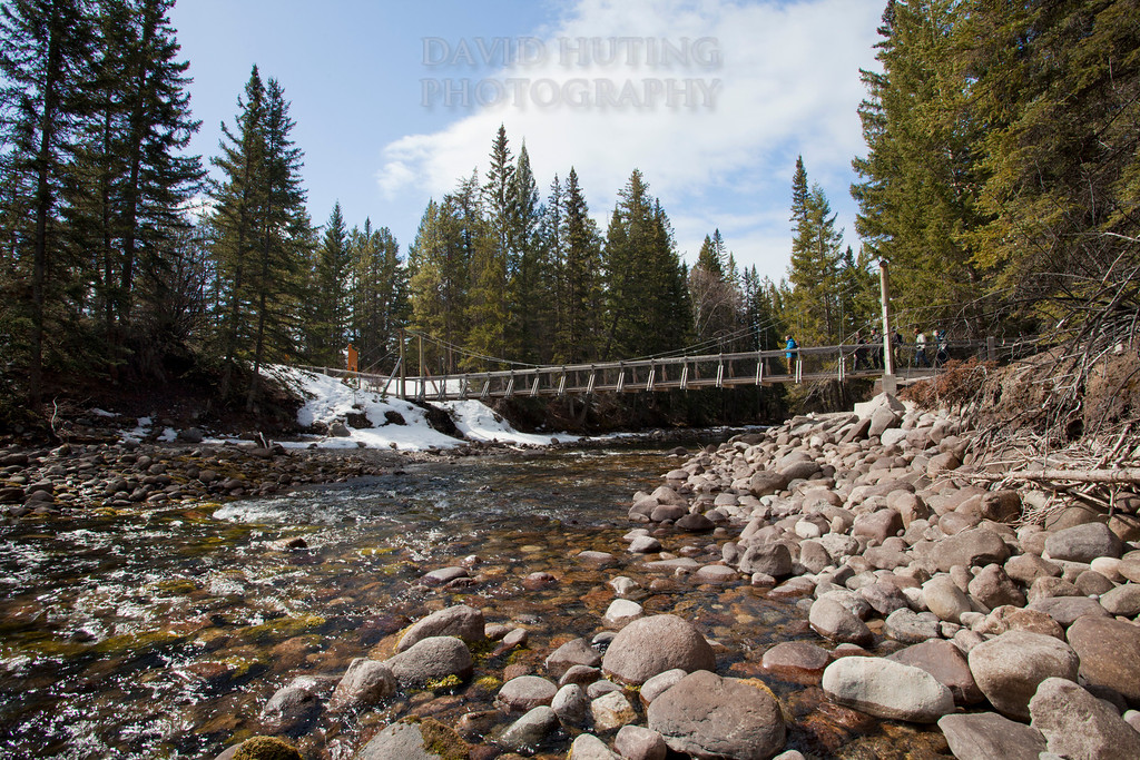 Maligne River Bridge