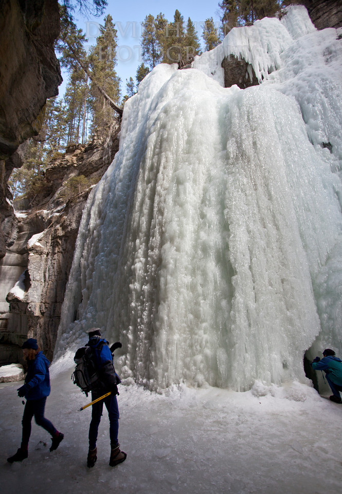 Frozen Canyon explorers
