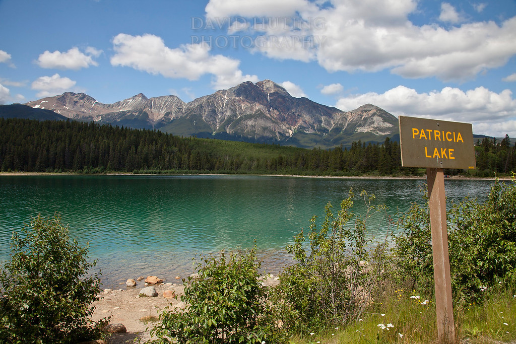 Patricia Lake Sign View