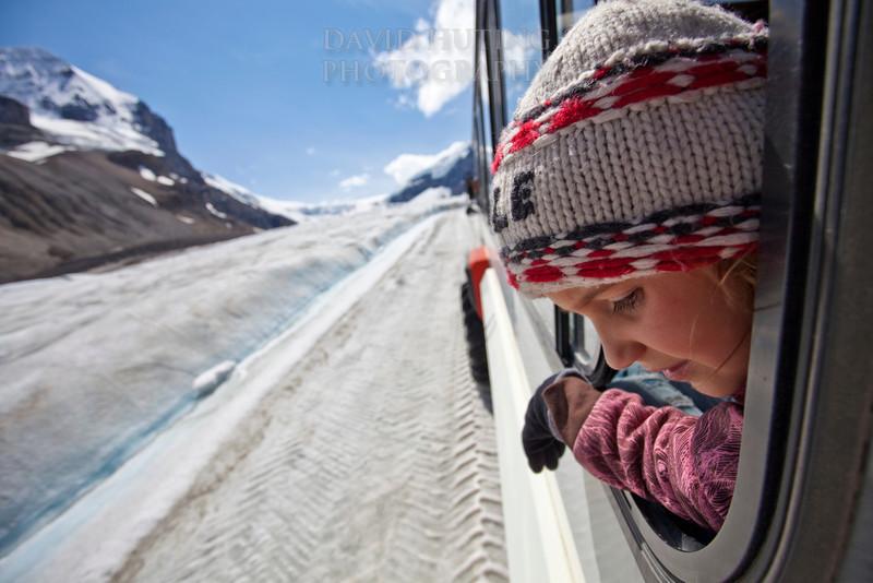 Enjoying the Icefield Explorer