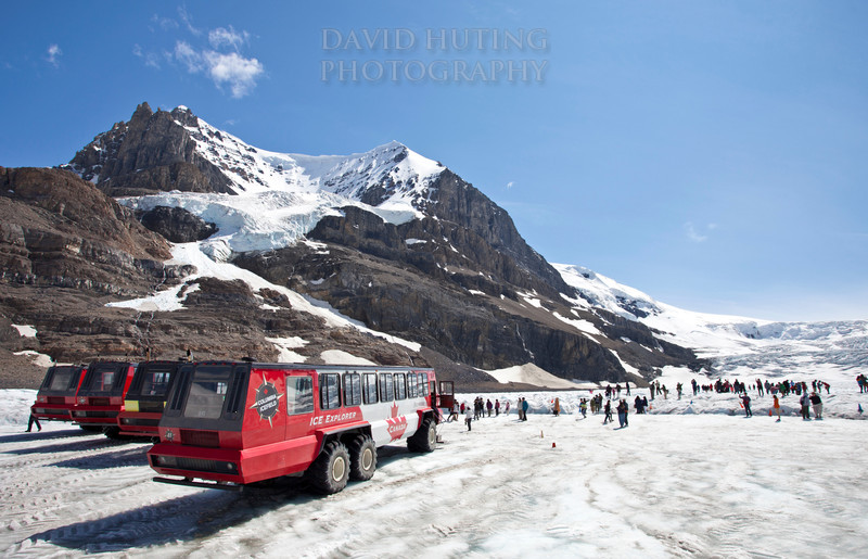Parked at the Glacier