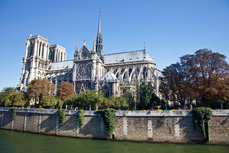 Notre Dame full side view