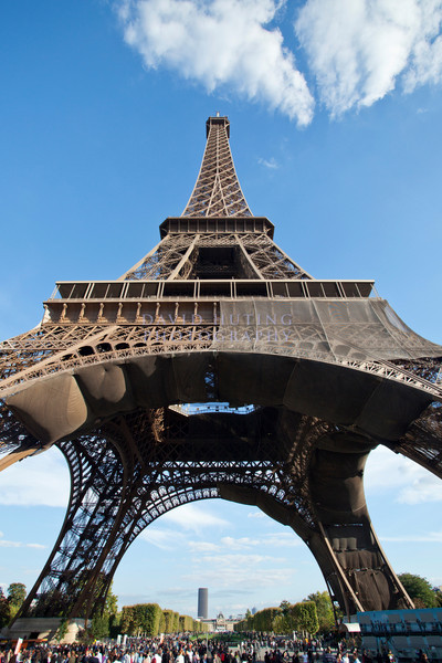 Eifel Tower Back View