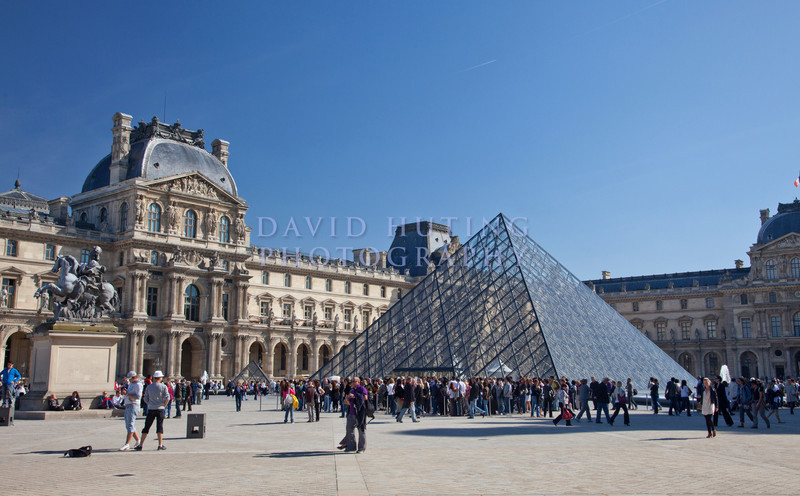 Louvre Pyramid View