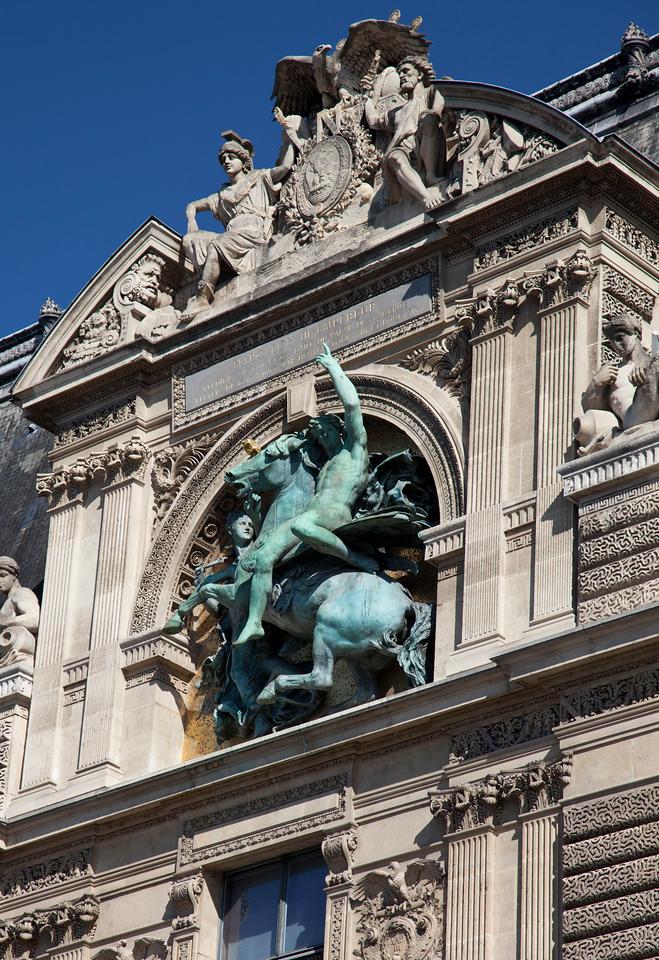 Louvre Statue Detail