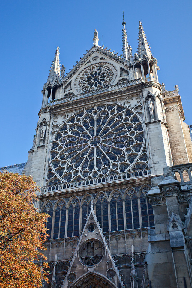 Notre Dame Detail vert