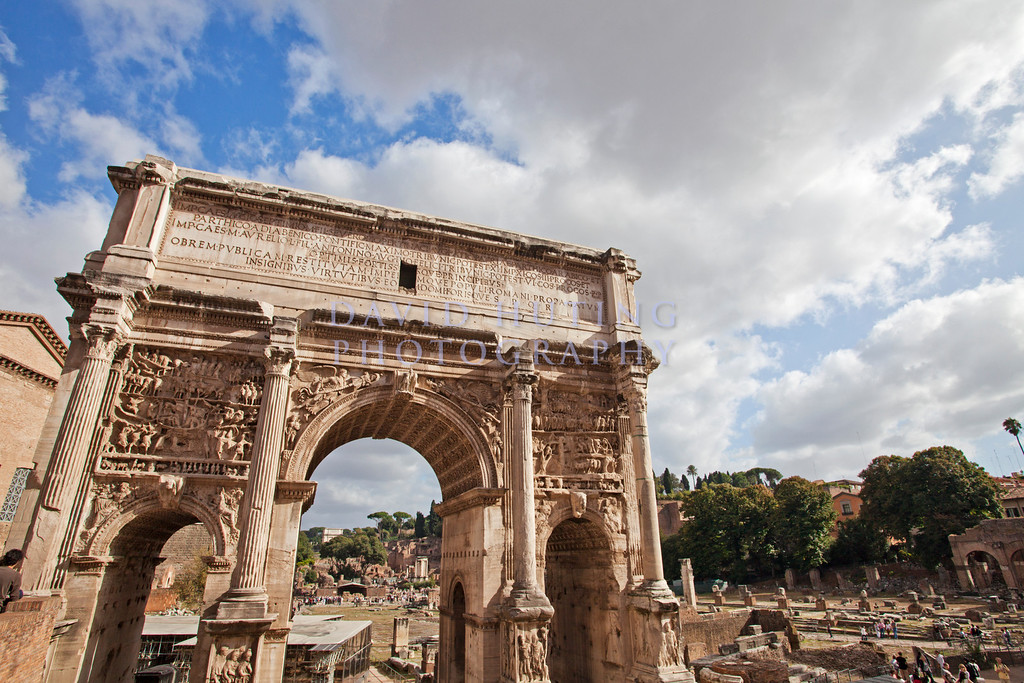 Roman Forum Arc View