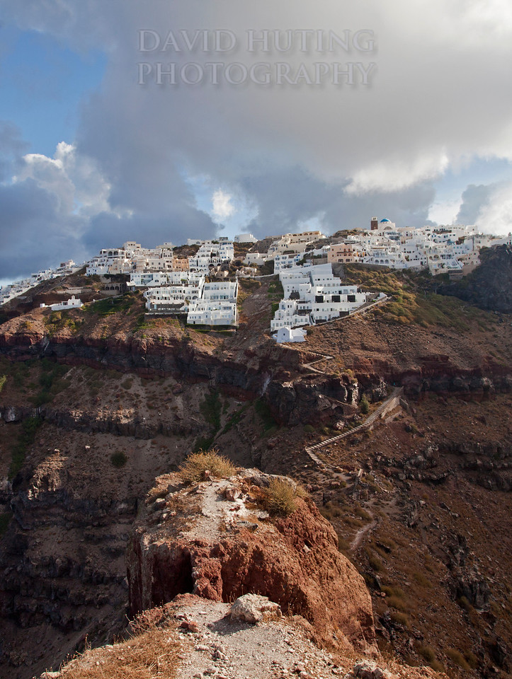 Fira View from Mountain