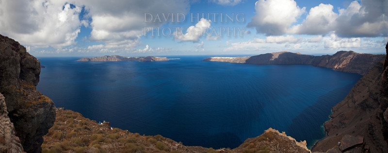 Santorini Blue Waters Panoramic