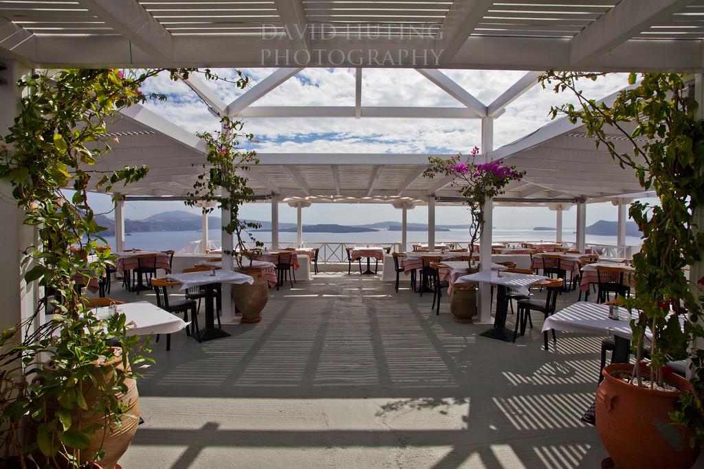 Oia Restaurant Deck