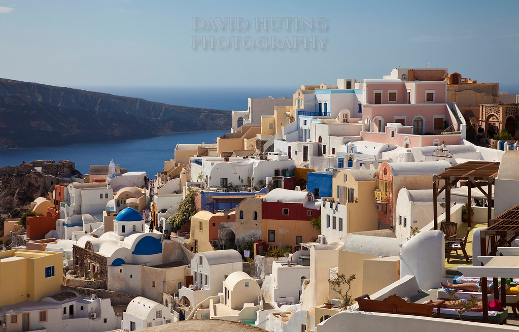 Oia Colorful View