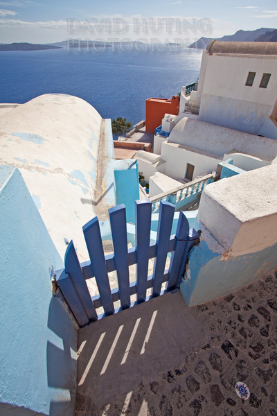 Oia Fence View