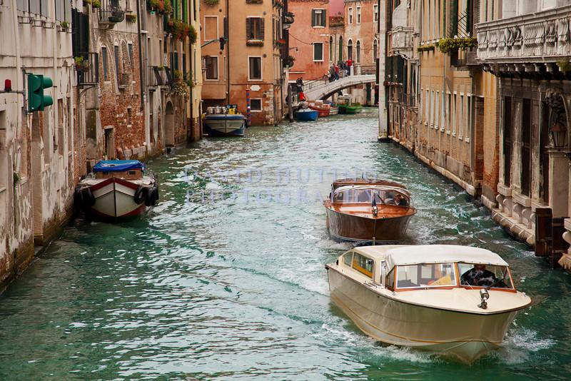 Venice Boats- Canal