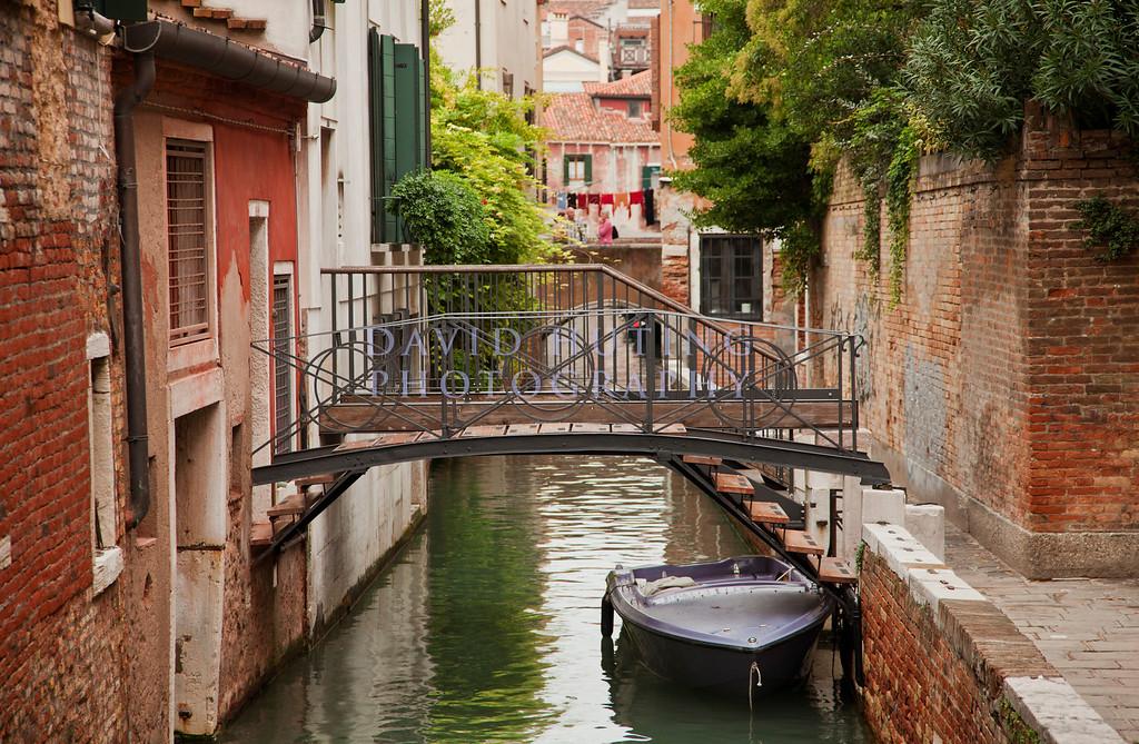 Venice Purple Boat