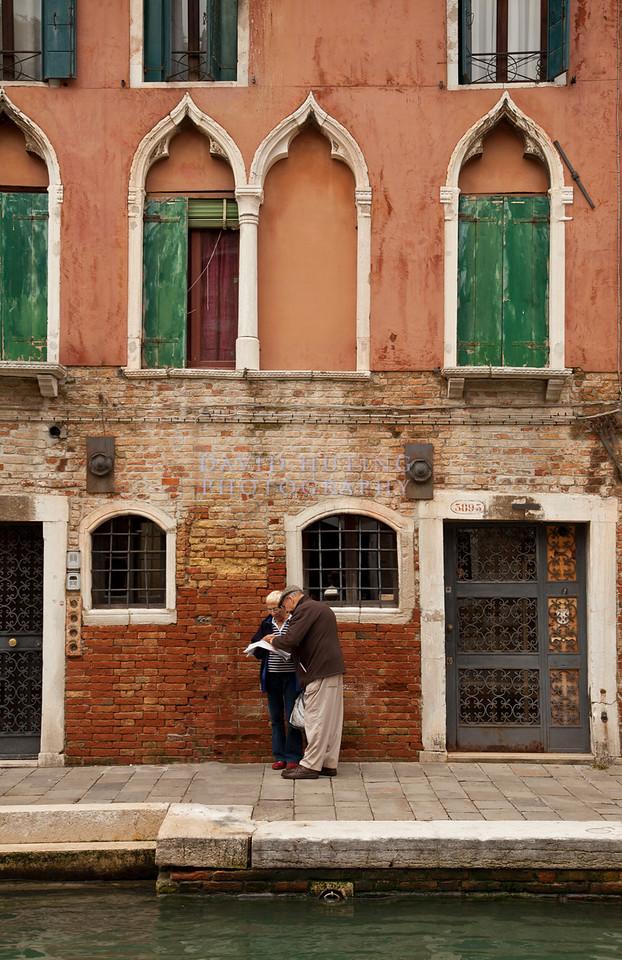 Venice - Old Couple