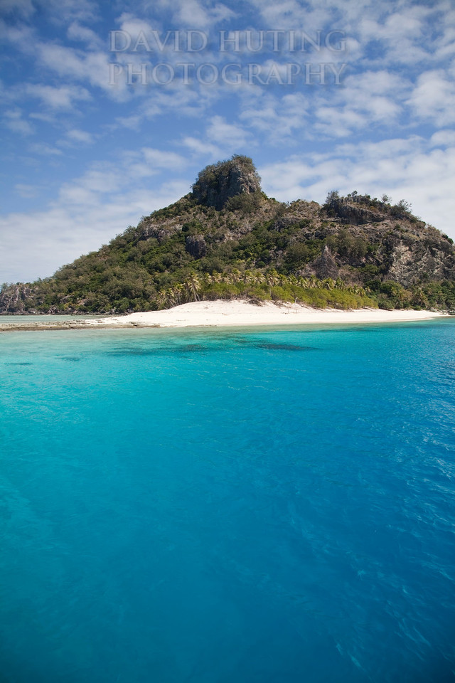 Monuriki Island View Vertical