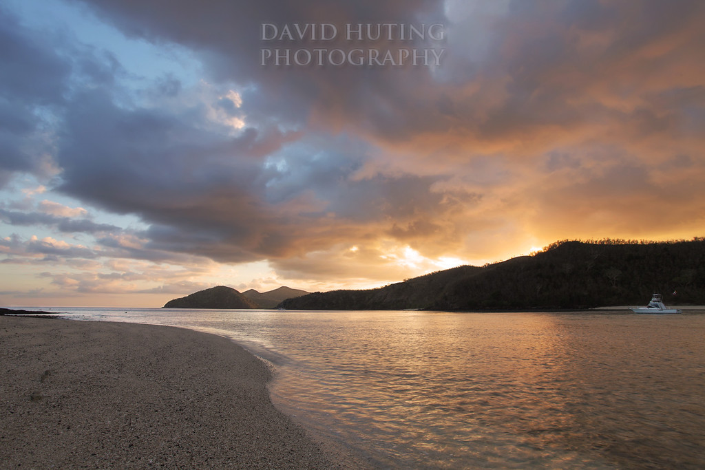 Sunrise View from Manta Ray Island