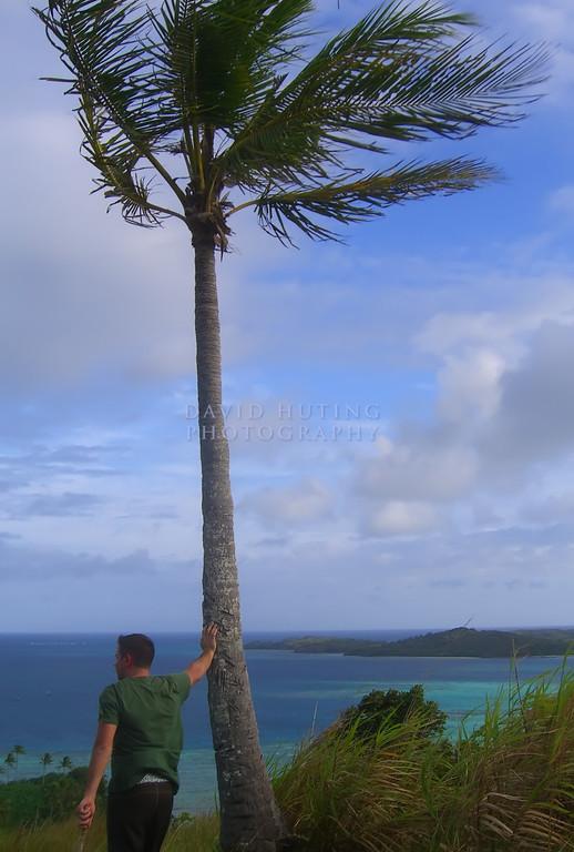 Reflecting in Fiji