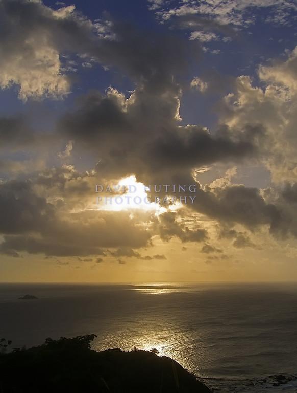 Star-Shaped Sunset Skies