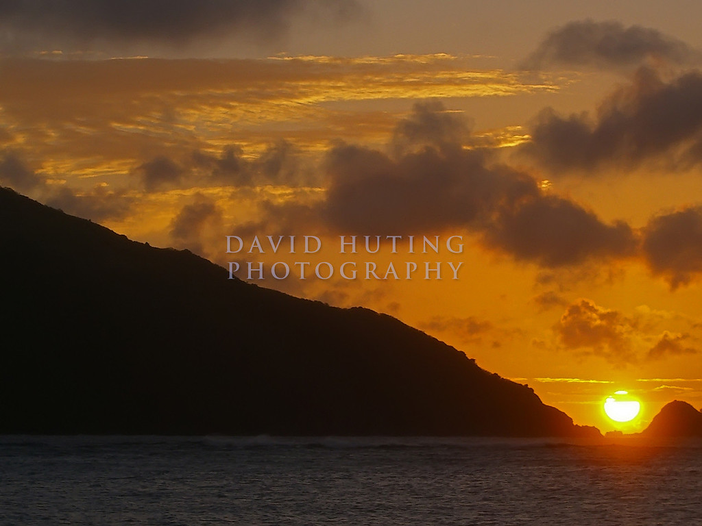 Tropical Fiji Sunset