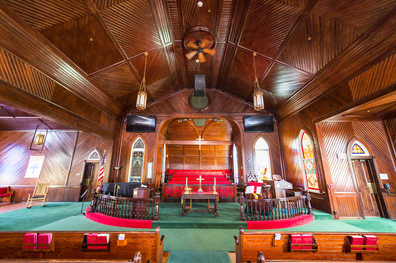 Trinity United Methodist Church, Interior I