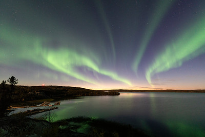Sunset Aurora