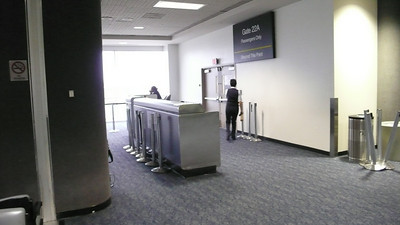 LAX - Gate 22 ( Terminal 2 Interior)