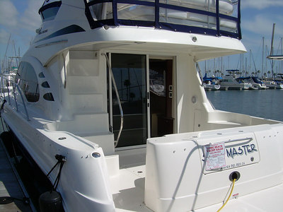Shotmaster - 42' Sea Ray 420 Sedan Bridge