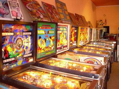 P.J.'S Pinball Museum