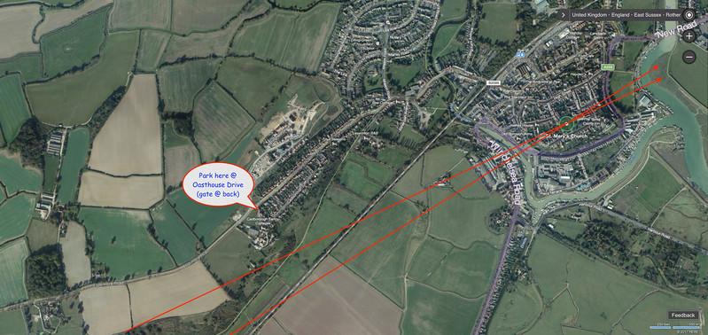 4) Potential vantage point & parking location