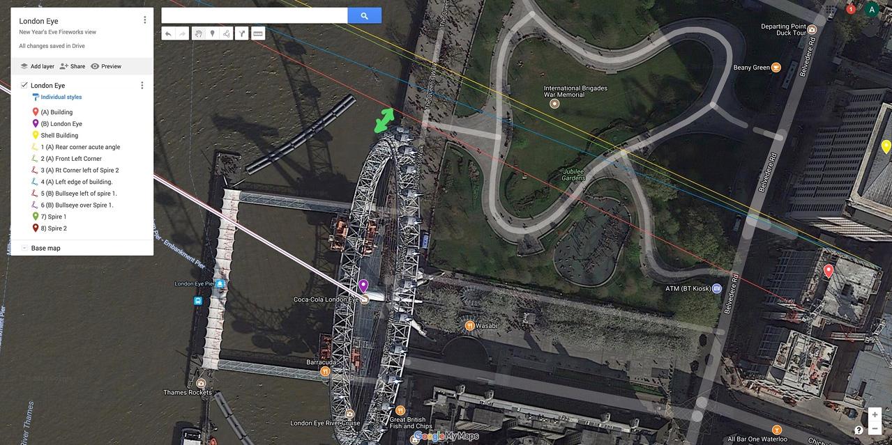 Building (B) - London Eye