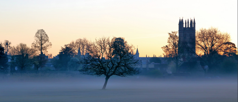 Magdalen College dawn