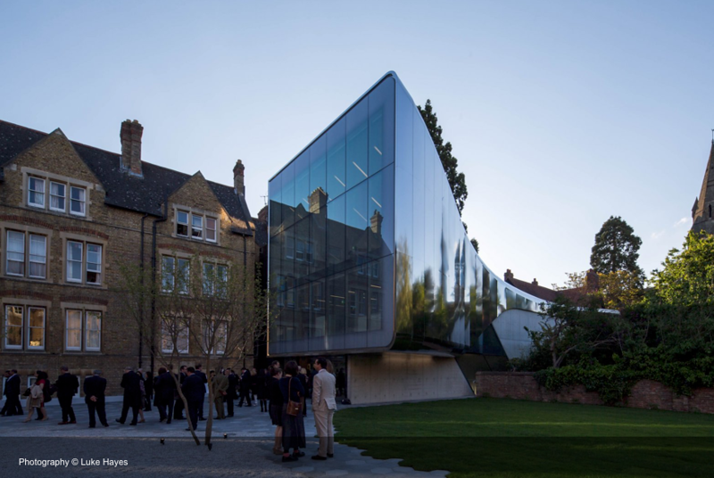 St Antony's College - Investcorp Building by Zaha Hadid