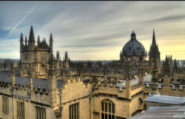 View from Sheldonian