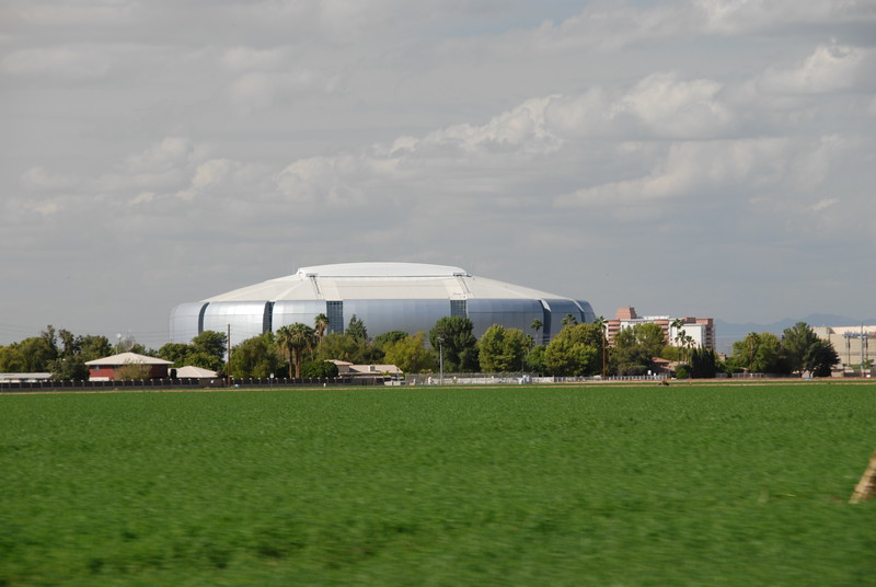 Arizona Cardinals stadium.
