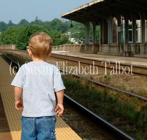 Looking for the train