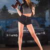 Michelle Westby Garage Shoot