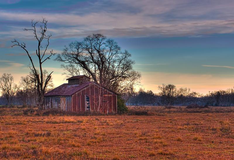 Glorious Dawn - Dickinson Barn