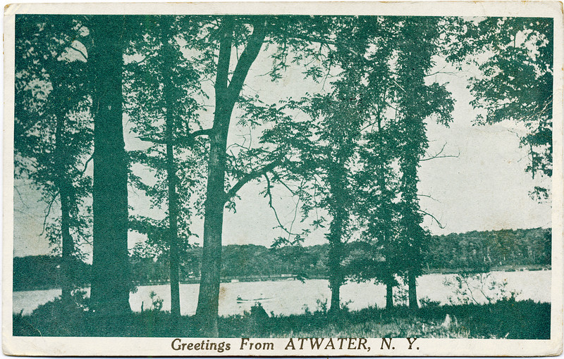 1925 Greeting from Atwater, NY. (Photo ID: 29348)