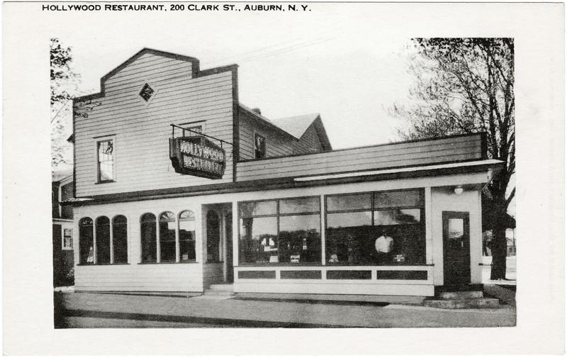 Hollywood Restaurant, 200 Clark St., Auburn, NY. (Photo ID: 46759)