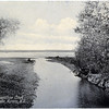 The Mouth of Moonshine Creek showing Cayuga Lake, Aurora, NY. (Photo ID: 30457)