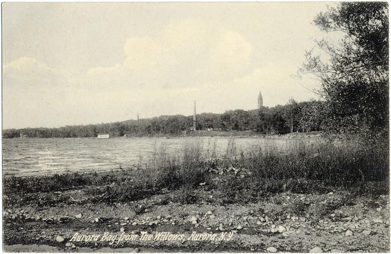 Aurora Bay from the Willows, Aurora, NY. (Photo ID: 30456)